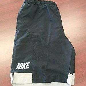 Nike swim shorts with liner and pockets